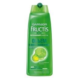 """Garnier шампунь """"Fructis. Объем и восстановление"""" для тонких и ослабленных волос, 250 мл"""