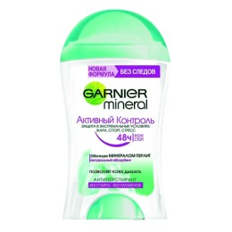"Garnier антиперспиратн ""Mineral. Активный контроль"" стик для женщин"