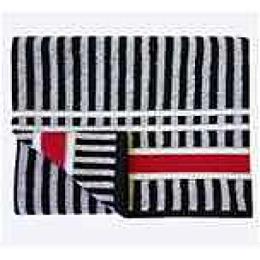 Ituma полотенце махровое, черно-белое пестротканное 70х140 см