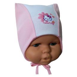 "Hello Kitty шапка детская ""Цветок"", размер 44-46"