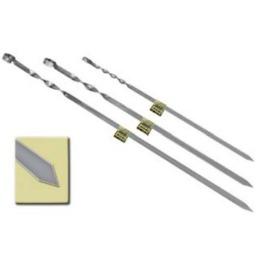 Boyscout шампур угловой из нержавеющей стали, 450х10х1 мм.