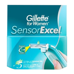 "Gillette сменные кассеты ""Sensor Excel"" женские"
