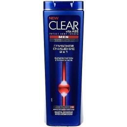 """Clear шампунь и бальзам-ополаскиватель против перхоти для мужчин """"Глубокое очищение"""""""