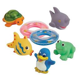 """Курносики набор игрушек для ванной """"Веселое купание"""""""