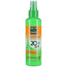 Чистая Линия спрей солнцезащитный 20 SPF