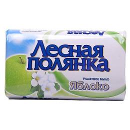 """Лесная Полянка мыло туалетное """"Яблоко"""""""