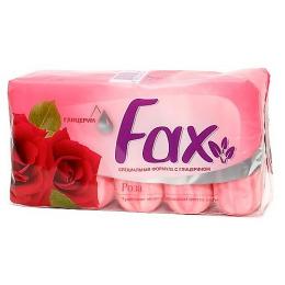 """Fax мыло с глицерином """"Роза"""""""