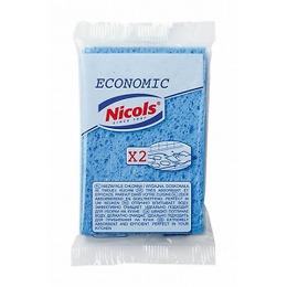 """Nicols кухонные губки целлюлозные """"Economic"""""""