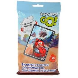 Angry Birds салфетки влажные для планшетов
