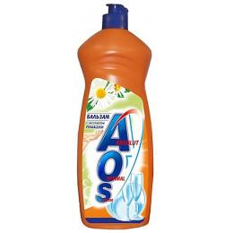 """Aos средство для посуды """"Бальзам ромашка и витамин Е"""""""