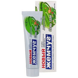 "Новый Жемчуг зубная паста ""7 трав"""