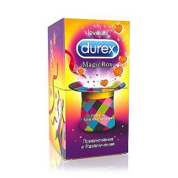 """Durex набор презервативов """"Magic Box. Приключение и развлечение"""""""