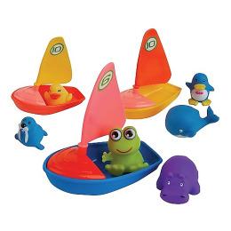 """Курносики игрушка для ванной """"Удивительная регата"""""""