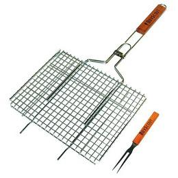Boyscout решетка-гриль для стейков с вилкой 75x35x27x2 cм.