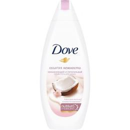 """Dove крем-гель для душа """"Кокосовое молочко и лепестки жасмина"""", 250 мл"""