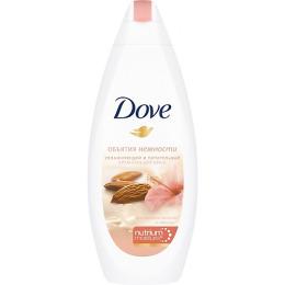 """Dove крем-гель для душа """"Миндальное молоко и гибискус"""""""