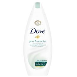 """Dove крем-гель для душа для чувствительной кожи """"Гипоаллергенный"""", 250 мл"""