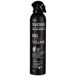 """Syoss лак для волос """"Экспертные Решения Big Sexy Volume"""""""