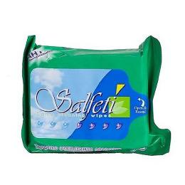 Salfeti салфетки влажные антибактериальные, 100 шт