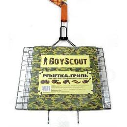 Boyscout решетка-гриль для 6 порций блюд большая с антипригарным покрытием 62x40x30x25