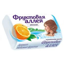 """Фруктовая аллея мыло туалетное """"Апельсин"""""""