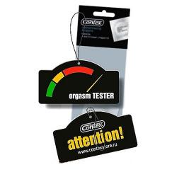 """Contex ароматизатор воздуха картонный с подвеской """"Orgasm Tester"""""""