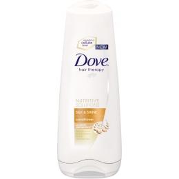 "Dove бальзам-ополаскиватель ""Hair Therapy. Шелковое сияние"""