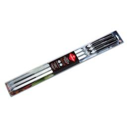 Forester набор шампуров больших в блистере, 6 шт с деревянными ручками, 1 шт