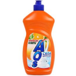"""Aos cредство для посуды """"Апельсин и мята"""""""