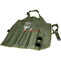 Boyscout набор сумка-фартук вилка лопатка щипцы солонка перечница