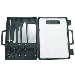 Forester набор для разделки мяса, рыбы, овощей в чемодане, 1 шт
