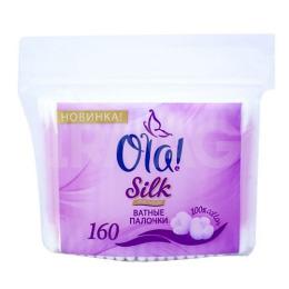 Silk Sense ватные палочки полиэтиленовая упаковка 160 шт