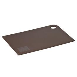 "Plast Team доска разделочная ""Grosten"" прямоугольная, коричневая 247x175x2 мм"