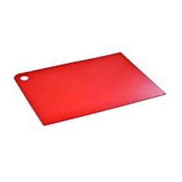 "Plast Team доска разделочная ""Grosten"" прямоугольная, красная 247x175x2 мм"