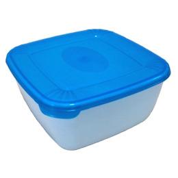 """Plast Team емкость для свч и хранения продуктов """"Polar micro wave"""" квадратная"""