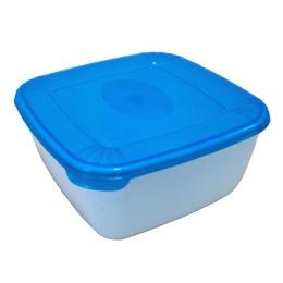 """Plast Team емкость для свч и хранения продуктов """"Рolar micro wave"""" квадратная"""