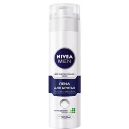 Nivea пена для бритья для чувствительной кожи