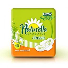 """Naturella гигиенические прокладки с крылышками """"Мягкость календулы. Normal deo single"""" 10шт"""