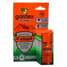 Gardex концентрат для защиты дачного участка от клещей