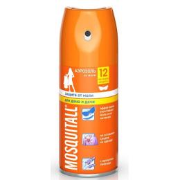 Mosquitall аэрозоль инсектицидный защита от моли с ароматом лаванды