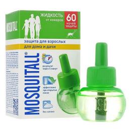 """Mosquitall жидкость от комаров """"Защита для взрослых. 60 ночей"""""""