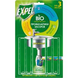 Expel биоактиватор для раковины на кухне 6 палочек в упаковке