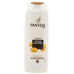 """Pantene шампунь """"Густые и крепкие"""" для нормальных тонких и ослабленных волос, 250 мл"""
