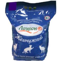 """Лаурон наполнитель """"Жемчужный"""" для кошачьих туалетов, силикогелевый"""