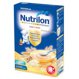 """Nutrilon каша молочная """"4 злака"""" с 8 месяцев"""