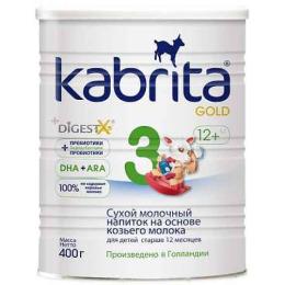 """Kabrita молочная смесь """"Gold 3"""" на основе козьего молока"""
