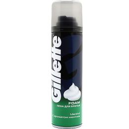 "Gillette пена для бритья ""Ментол"""