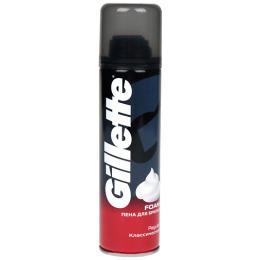 """Gillette пена для бритья """"Regular"""" классическая, 200 мл"""