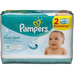 """Pampers салфетки детские """"Baby fresh"""" увлажняющие, сменный блок"""