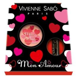 """Vivienne Sabo подарочный набор """"Румяна Mon Amour + тушь Delices pour Cils"""""""